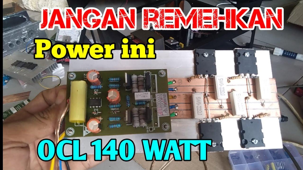 Tes Power Legendaris Ocl 140 Watt Modif Langsung Horegg Youtube