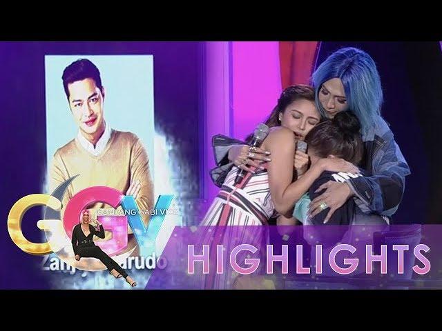 GGV: Bela Padilla receives warm hugs from Vice Ganda and Kim Chiu