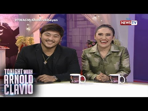 Tonight with Arnold Clavio: 'TWAC' welcomes Mr. and Mrs. Sibayan