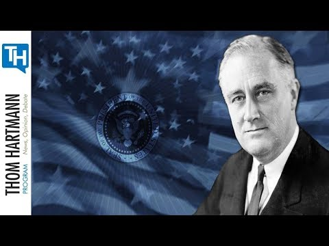 If The Rich Would Rather Leave than pay Taxes, Let Them (w/Guest President Franklin Roosevelt)