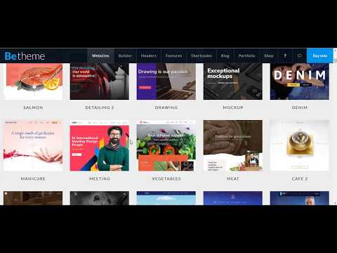 How to install and setup latest Betheme Version 20+