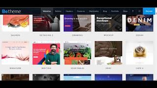 видео BeTheme v20.9.5.1 - шикарная премиум-тема для WordPress