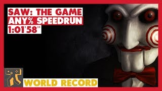 "SAW: The Game - Any% Speedrun - 01:01'58"" [World Record]"