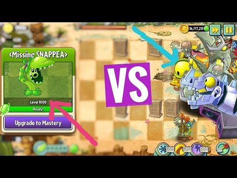 PVZ 2 7.1.1 | LinhYM | Plants Vs Zombies 2 Mod Snappea Level 1000 Vs All Zomboss Android Beta