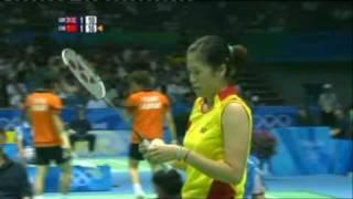 Beijing Olympics Emms/Robertson vs Gao/Zheng Part 7