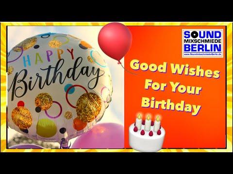 Happy Birthday to YOU ❤️ Best Good Wishes for your Birthday NEW Song 2018 WhatsApp Geburtstagsgrüße
