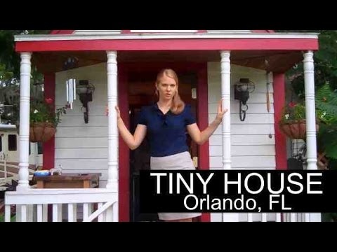 Woman lives in TINY HOUSE in Orlando, FL- (RV parked and legal)-