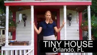 Woman Lives In Tiny House In Orlando, Fl-  Rv Parked And Legal -
