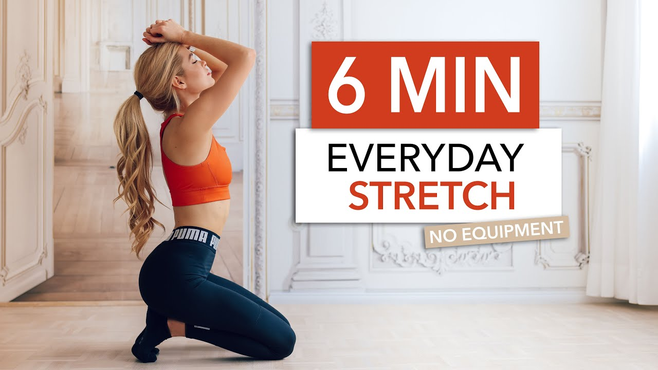 20 MIN EVERYDAY STRETCH   for stiff muscles, flexibility & after your  workout I Pamela Reif
