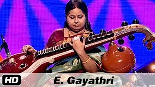 E Gayathri Veena | Sindhu Bhairavi | Carnatic Classical Instrumental | Idea Jalsa | Art and Artistes
