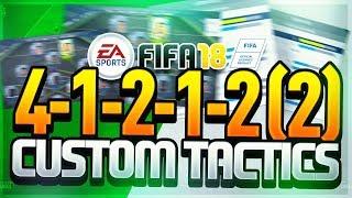 41212-2 TIKA TAKA CUSTOM TACTICS & PLAYER INSTRUCTIONS | FIFA 18 ULTIMATE TEAM