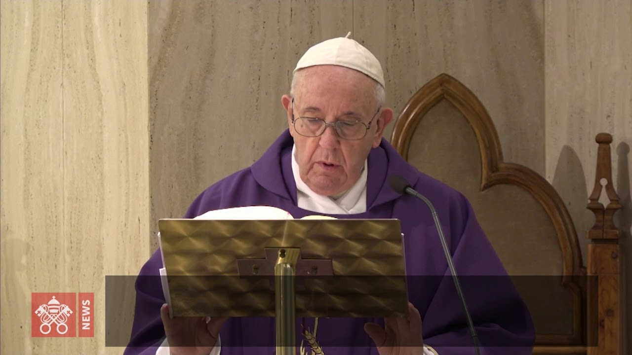 Papa: Deus converta os Judas de hoje, mafiosos e agiotas que exploram os necessitados.