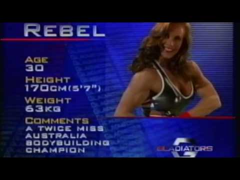 Australian Gladiators - Rebel Bio