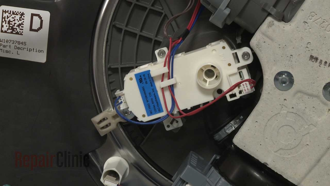 Kitchenaid Dishwasher Diverter Motor Replacement  W10537869