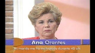Ana Orantes relata los malos tratos sufridos durante 40 años   Canal Sur Televisión