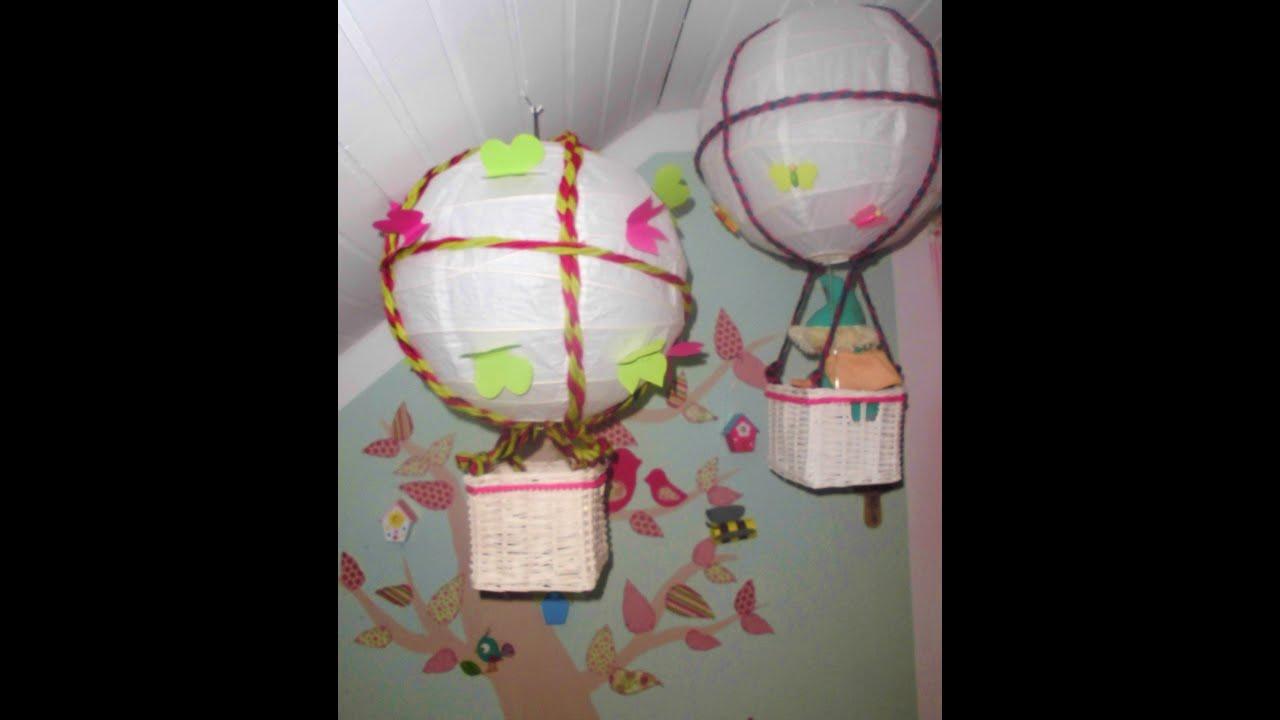 DIY Kinderzimmer DekoTipp Heiluftballon selber machen