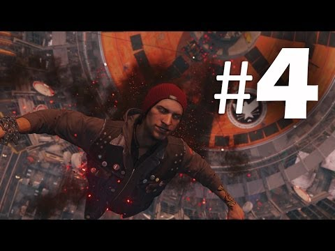 Infamous Second Son Part 4 - Space Needle - Gameplay Walkthrough PS4