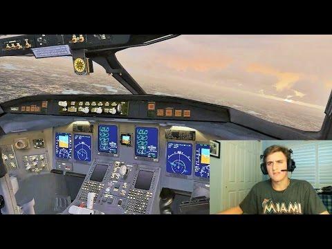 VATSIM: Shared Cockpit CRJ-200 | Landing at Boston Logan Int'l (Air Wisconsin)