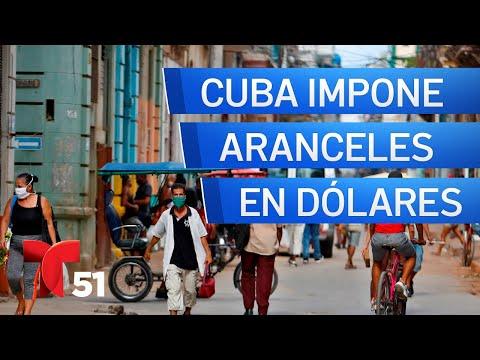 Aduana en Cuba