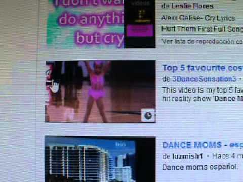 ¿Donde puedo encontrar Los capitulos de Dance Moms en Español Latino?