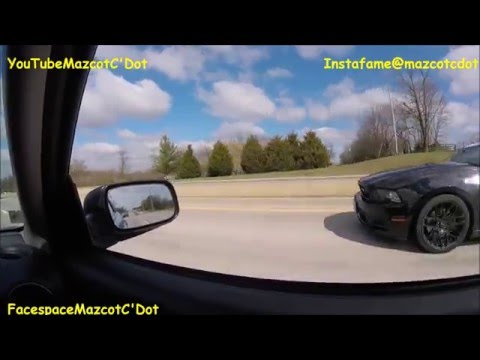 INSANELY LOUD Exhaust Mustang GT Exhaust Crackles Pops