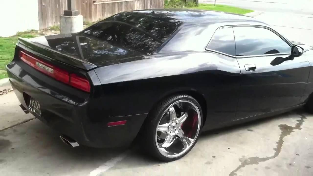 713 Motoring Dodge Challenger On 22 Asanti Elt Youtube