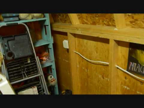 hook up electricity to shed