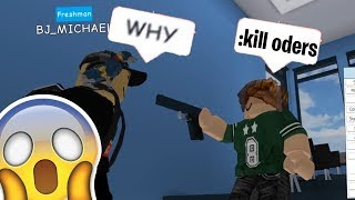 Roblox Exploiting #87 - KILLING ODERs ON ROBLOXIAN HIGH SCHOOL