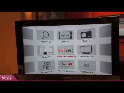 Démonstration Décodeur TV SFR avec Google Play