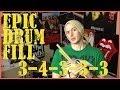 An Epic Drum Fill - 34333 - Drum Lesson #124