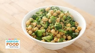 Broccoli And Chickpea Salad - Everyday Food With Sarah Carey