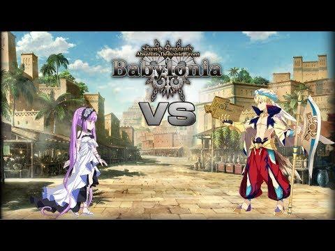 """[FGO NA] ~ Babylonia Solo Playthru #17 (Gilgamesh): """"Goodbye Goddess of the Underworld 1/2"""""""