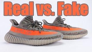 Real vs Fake adidas Yeezy Boost 350 V2