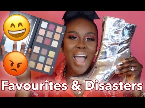 MARCH FAVOURITES AND DISASTERS 2017 | Fumi Desalu-Vold