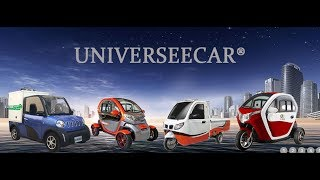 universeecar 45km/h ANNAI42 mini EEC L6E four wheels electric car for Europe