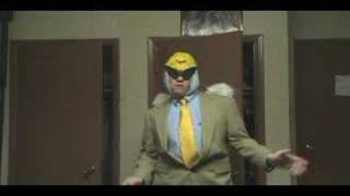 Harvey Birdman Dancing