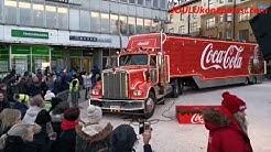 Coca-Colan joulurekka pysähtyi Turun torille 20.12.2018