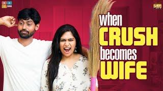When Crush Becomes Wife | Narikootam | Tamada Media