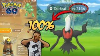 DARKRAI 100% ¿LO ATRAPARÉ? & INTERCAMBIO SHINY con SUERTE! - Pokémon Go