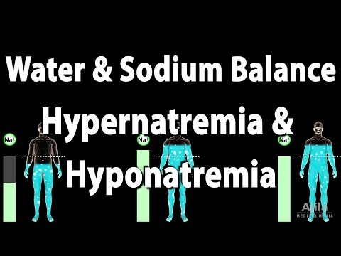Water And Sodium Balance, Hypernatremia And Hyponatremia, Animation