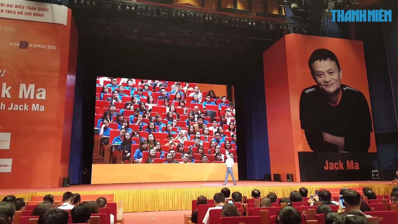 Tỉ phú Jack Ma nhắn nhủ thanh niên Việt Nam: \u0027Không bao giờ trễ để khởi nghiệp\u0027