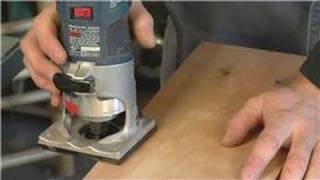 Home Remodeling Tools : How To Round Edges With The Handheld Router