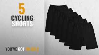 Top 10 Cycling Shorts [2018]: BODYCARE Pure Cotton Plain Black Cycling Shorts for Girls & Kids