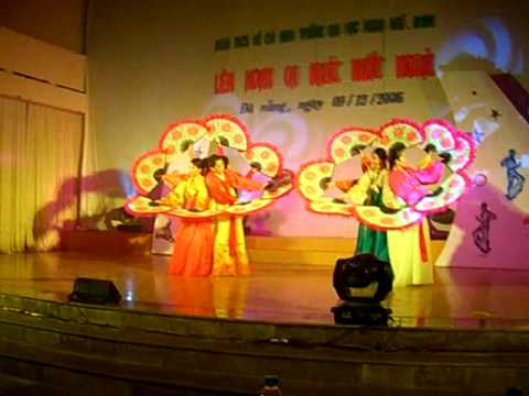 부채춤 베트남 ( Múa quạt Hàn Quốc)