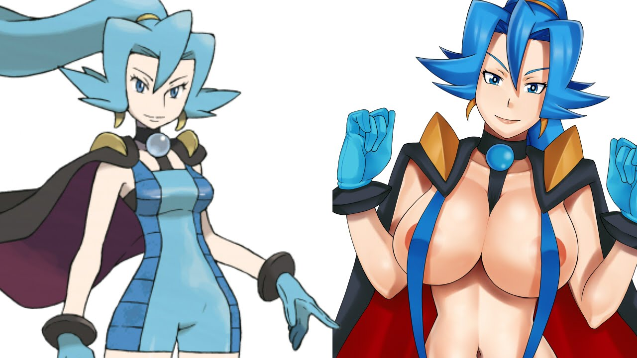 Pokemon naked girls sexy