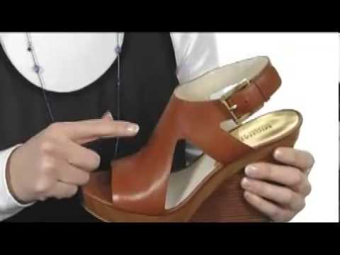 3101746bbf16 MICHAEL Michael Kors Josephine Wedge SKU  8126974 - YouTube
