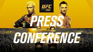 UFC 262: Pre-fight Press Conference