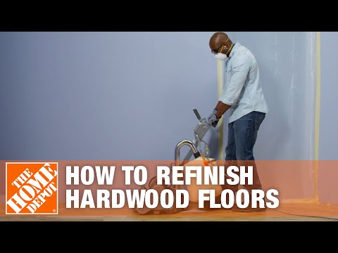 How to Refinish Hardwood Floors | The Home Depot