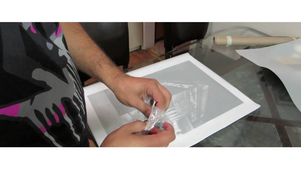Foundation Drawing Mylar Art Project 1 DIY