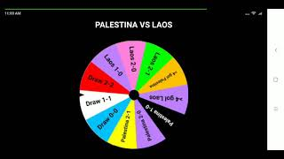 Palestina vs Laos, Asian Games 2018